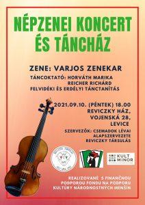 Varjos Zenekar - népzenei koncert és táncház